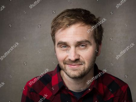 "Stock Picture of Actor Calvin Reeder from the film ""The Rambler"" poses for a portrait during the 2013 Sundance Film Festival at the Fender Music Lodge on in Park City, Utah"