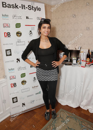 Alysha Brilla attends the 2014 Bask-It-Style Media Day, on Wednesday, September 3th, 2014 in Toronto, Canada