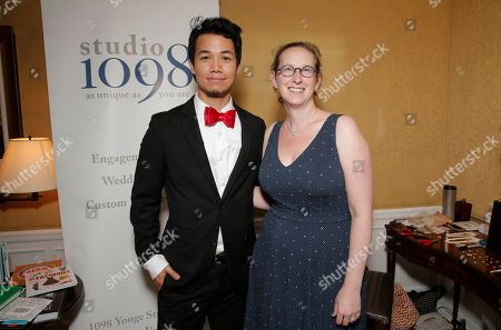 Shannon Kook and studio1098's Tamara Kronis attend the 2014 Bask-It-Style Media Day, on Wednesday, September 3th, 2014 in Toronto, Canada