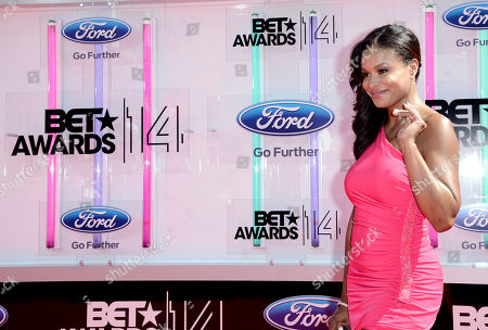 Stock Photo of Joyful Drake arrives at the BET Awards at the Nokia Theatre, in Los Angeles