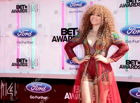 Editorial photo of 2014 BET Awards - Arrivals, Los Angeles, USA - 29 Jun 2014