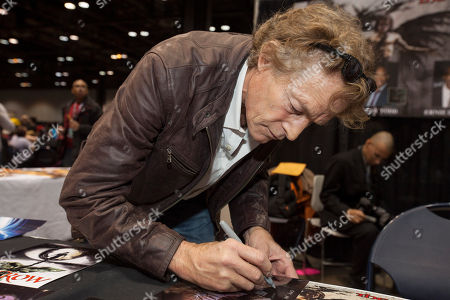Stock Photo of Actor Michael Massee at the Chicago Comic & Entertainment Expo at McCormick Place, in Chicago