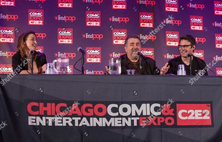 Editorial image of 2014 Comic And Entertainment Expo - Day 3, Chicago, USA - 27 Apr 2014