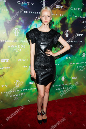 Genevieve Welsh attends the Fragrance Foundation Awards on in New York