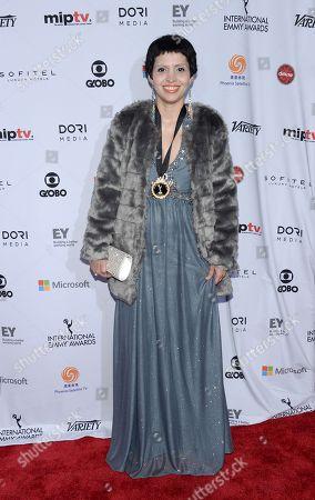 Editorial photo of 2014 International Emmy Awards Gala - Arrivals, New York, USA - 24 Nov 2014