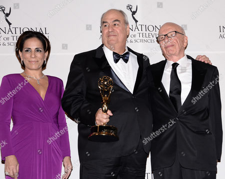 Editorial photo of 2014 International Emmy Awards Gala - Press Room, New York, USA - 24 Nov 2014