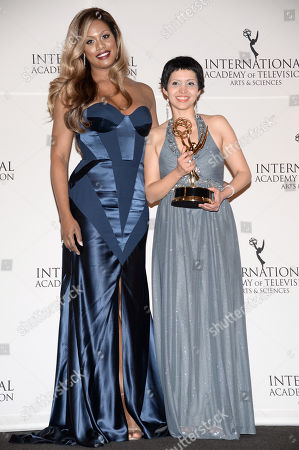 Editorial picture of 2014 International Emmy Awards Gala - Press Room, New York, USA - 24 Nov 2014