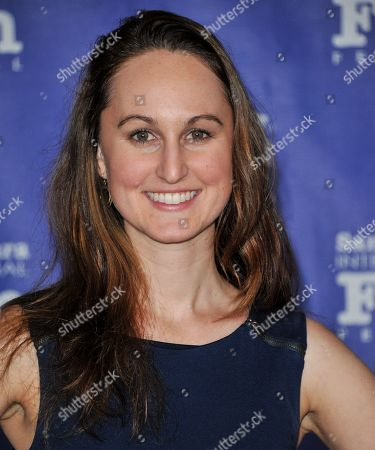 Erin Krozek seen at 2014 Santa Barbara International Film Festival - Outstanding Director Award ceremony on Friday, Jan, 31, 2014 in Santa Barbara, Calif