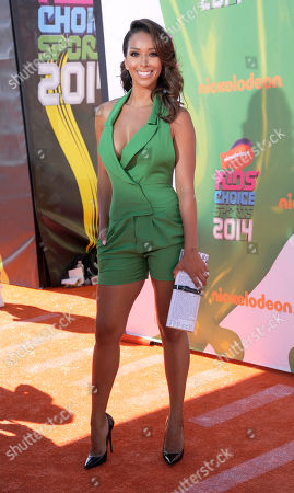 Gloria Govan-Barnes arrives at the Kids' Choice Sports Awards at UCLA's Pauley Pavilion, in Los Angeles