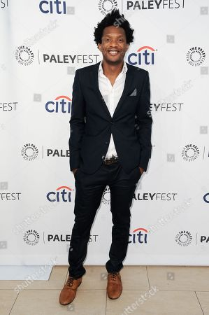 Seaton Smith arrives at the 2014 PALEYFEST Fall TV Previews - FOX, in Beverly Hills, Calif