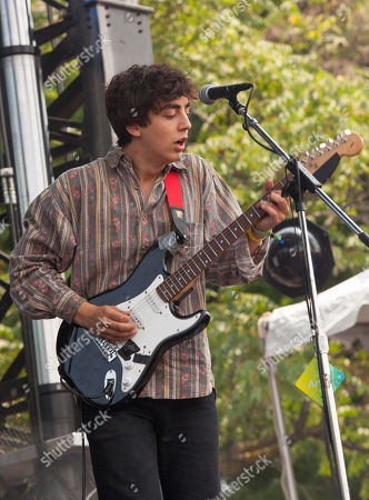 Clay Frankel of Twin Peaks seen at the 2014 Pitchfork Music Festival, on in Chicago