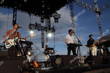Ernest Greene as Washed Out performs at The Sasquatch! Music Festival at the Gorge Amphitheatre, in George, Washington