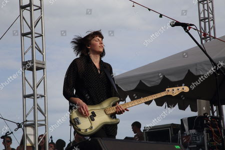 Emma Richardson and Band of Skulls performs at The Sasquatch! Music Festival at the Gorge Amphitheatre, in George, Washington