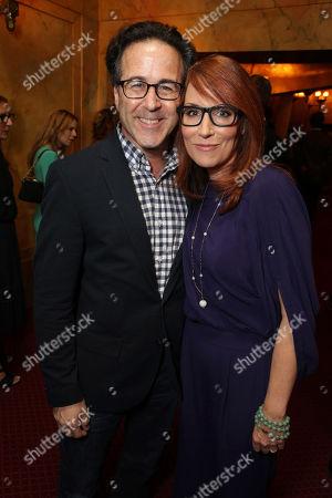"Ron Fassler and Writer Margaret Nagle seen at Warner Bros. ""The Good Lie"" Premiere at 2014 TIFF, in Toronto"