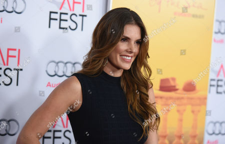 """Nikki Moore arrive at the 2015 AFI Fest opening night premiere of """"By The Sea"""", in Los Angeles"""