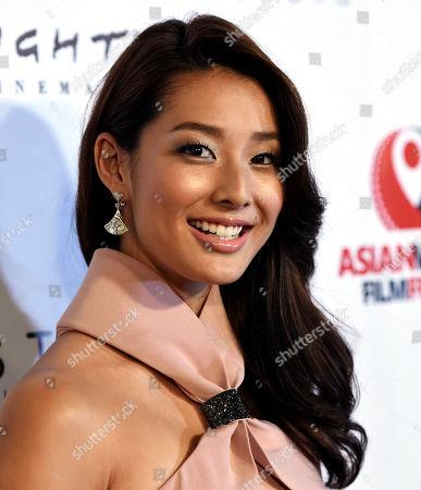 Honoree Sumire Matsubara of Japan poses at the 2015 Asian World Film Festival at Arclight Cinemas, in Culver City, Calif