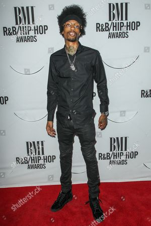Stock Picture of Sonny Digital attends the 2015 BMI R&B/Hip-Hop Awards at the Saban Theatre on in Beverly Hills, Calif