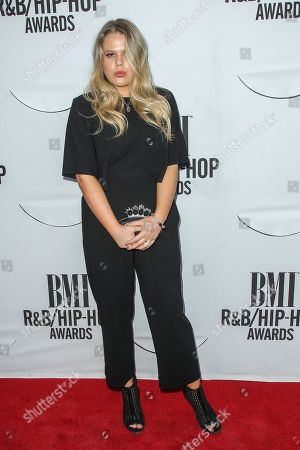Grace Sewell attends the 2015 BMI R&B/Hip-Hop Awards at the Saban Theatre on in Beverly Hills, Calif