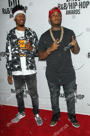 Metro Boomin, left, and Southside attend the 2015 BMI R&B/Hip-Hop Awards at the Saban Theatre on in Beverly Hills, Calif
