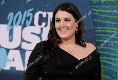 Kree Harrison arrives at the CMT Music Awards at Bridgestone Arena, in Nashville, Tenn
