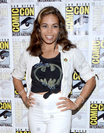 """Ciara Renee attends the """"Legends of Tomorrow"""" press line on day 3 of Comic-Con International, in San Diego"""