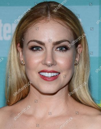 Amanda Schull arrives at Entertainment Weekly's Annual Comic-Con Party at FLOAT at the Hard Rock Hotel on in San Diego, Calif