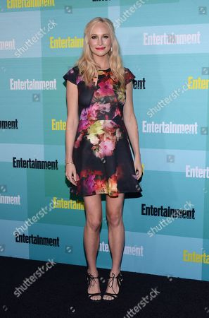 Stock Picture of Candice Accola arrives at Entertainment Weekly's Annual Comic-Con Party at FLOAT at the Hard Rock Hotel on in San Diego, Calif