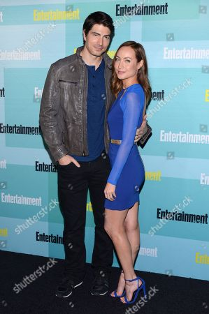 Brandon Routh and Courtney Ford arrive at Entertainment Weekly's Annual Comic-Con Party at FLOAT at the Hard Rock Hotel on in San Diego, Calif
