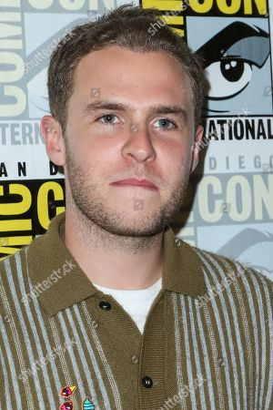 Iain De Caestecker attends the Marvel press line on day 2 of Comic-Con International, in San Diego