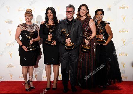 Editorial image of 2015 Creative Arts Emmy Awards - Press Room, Los Angeles, USA - 12 Sep 2015