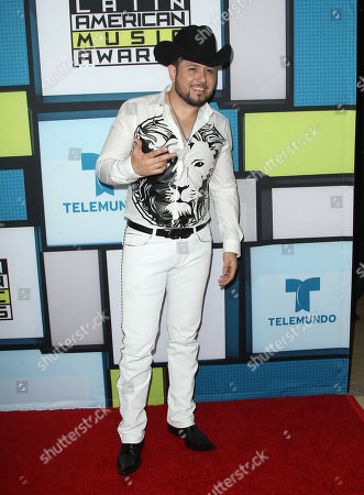 Stock Photo of Roberto Tapia poses backstage at the Latin American Music Awards at the Dolby Theatre, in Los Angeles