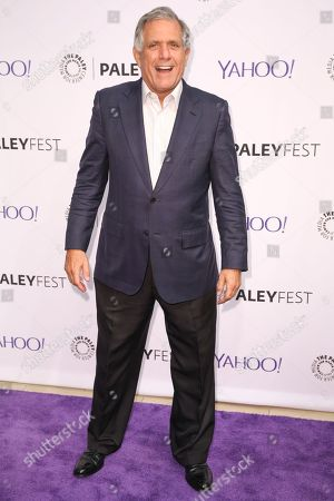 Les Moonves arrives at the 2015 PaleyFest Fall TV Previews at The Paley Center for Media, in Beverly Hills, Calif
