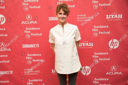 "Co-writer Jerusha Hess attends the ""Don Verdean"" premiere during the 2015 Sundance Film Festival, in Park City, Utah"