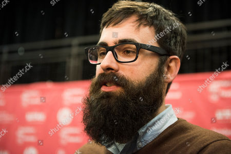 """Director Jared Hess attends the """"Don Verdean"""" premiere during the 2015 Sundance Film Festival, in Park City, Utah"""