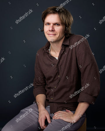 """Director/writer James C. Strouse poses for a portrait to promote the film, """"People, Places, Things"""", at the Eddie Bauer Adventure House during the Sundance Film Festival, in Park City, Utah"""