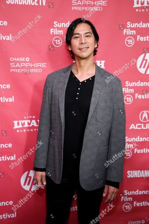 "Actor Kalani Queypo poses at the premiere of ""Slow West"" during the 2015 Sundance Film Festival, in Park City, Utah"