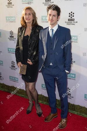 "Rory Flynn, left, and Sean Flynn arrive at the 2015 TCM Classic Film Festival Opening Night Gala ""The Sound Of Music"" at TCL Chinese Theatre on in Los Angeles"
