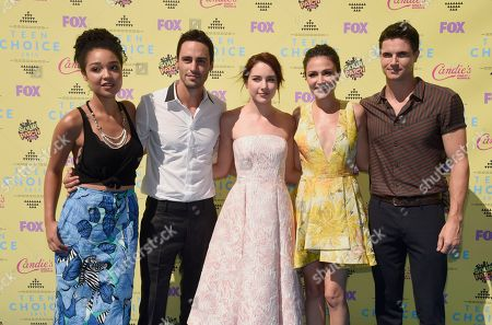 Editorial image of 2015 Teen Choice Awards - Arrivals, Los Angeles, USA - 16 Aug 2015