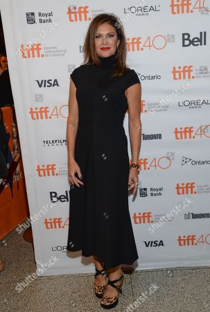 "Actress Wendy Crewson attends the premiere for ""Into The Forest"" on day 3 of the Toronto International Film Festival at the Winter Garden Theatre, in Toronto"