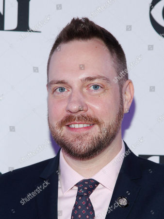 Moritz von Stuelpnagel attends the 2015 Tony Awards Meet The Nominees Press Junket at The Paramount Hotel, in New York