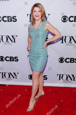 Victoria Clark attends the 2015 Tony Awards Meet The Nominees Press Junket at The Paramount Hotel, in New York