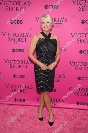Stock Image of Sharen Jester Turney attends the 2015 Victoria's Secret Fashion Show at the Lexington Armory, in New York. The Victoria's Secret Fashion Show will air on CBS on Tuesday, December 8th at 10pm EST