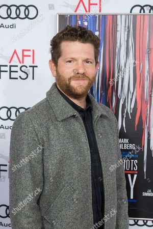 """Writer Joshua Zetumer arrives at the 2016 AFI Fest """"Patriots Day"""" Special Closing Night Gala Presentation at the TCL Chinese Theatre on Thursday, Nov.17, 2016, in Los Angeles"""