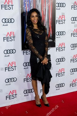 """Actress Khandi Alexander arrives at the 2016 AFI Fest """"Patriots Day"""" Special Closing Night Gala Presentation at at the TCL Chinese Theatre on Thursday, Nov.17, 2016, in Los Angeles"""