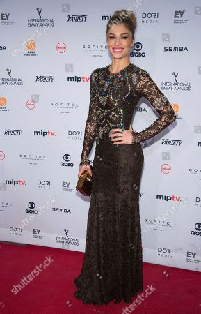 Editorial picture of 2016 International Emmy Awards - Arrivals, New York, USA - 21 Nov 2016