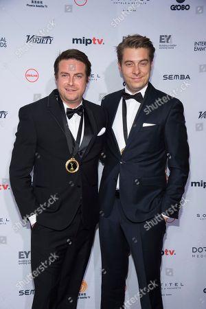 Editorial image of 2016 International Emmy Awards - Arrivals, New York, USA - 21 Nov 2016