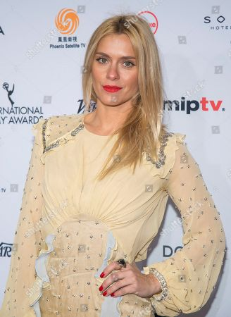 Carolina Dieckmann attends the 44th International Emmy Awards at the New York Hilton, in New York