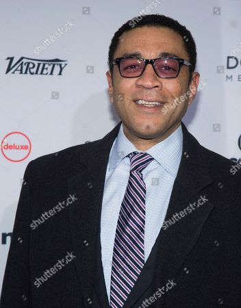 Harry Lennix attends the 44th International Emmy Awards at the New York Hilton, in New York