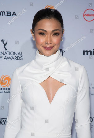 Jodi Sta. Maria attends the 44th International Emmy Awards at the New York Hilton, in New York