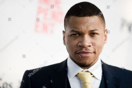 """Franz Drameh attends """"A Hundred Streets"""" premiere held at ArcLight Cinemas, in Culver City, Calif"""